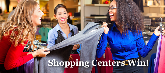 Shopping Centers win with points!